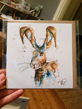 Load image into Gallery viewer, Wild Hare Greeting Card