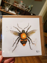 Load image into Gallery viewer, Worker Bee Greeting Card