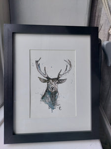 Riverstone print Framed