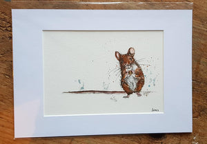 Little Mouse Print