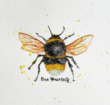Load image into Gallery viewer, Bee Yourself Print