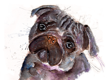 Load image into Gallery viewer, Pug Print