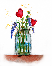 Load image into Gallery viewer, Flower Jar Print