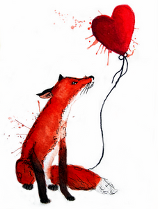 Forgotten Fox Greeting Card