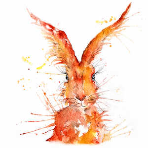 Fudge Hare Greeting Card