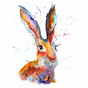 Bramble Hare Greeting Card