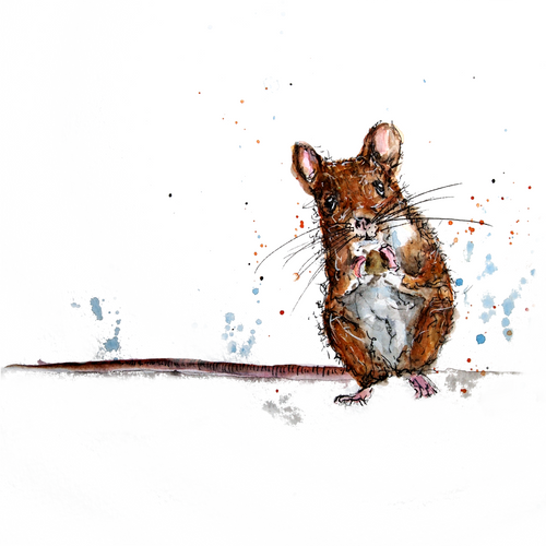 Little Mouse Greeting Card