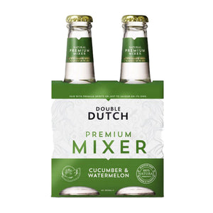 Double Dutch Cucumber & Watermelon pack 4x0,2l