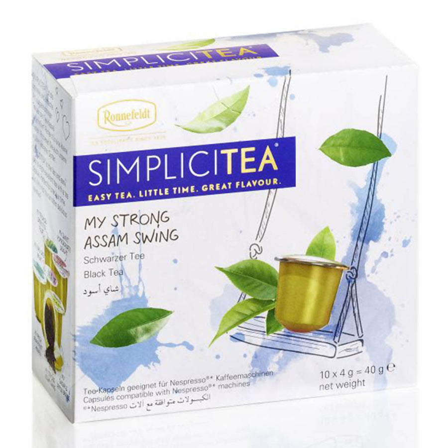 Ronnefeldt SIMPLICITEA My Strong Assam Swing (10 kapslí)