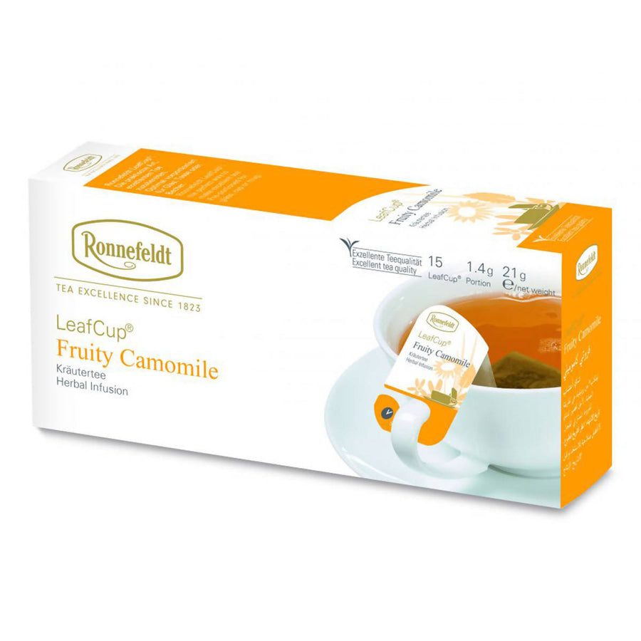Ronnefeldt LeafCup Fruity Camomile (15x1.4g)
