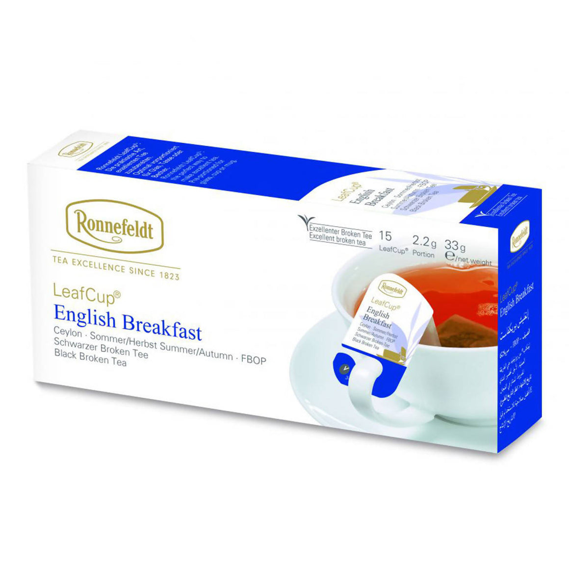 Ronnefeldt LeafCup English Breakfast (15x2.2g)