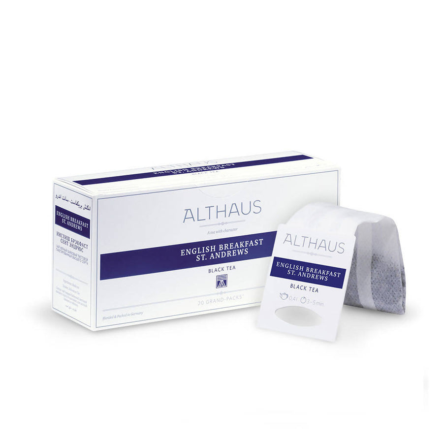 Althaus English Breakfast - Grand Pack (20x4g)