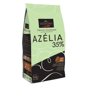 Valrhona Feves Milk Azelia 35% (1x3kg)