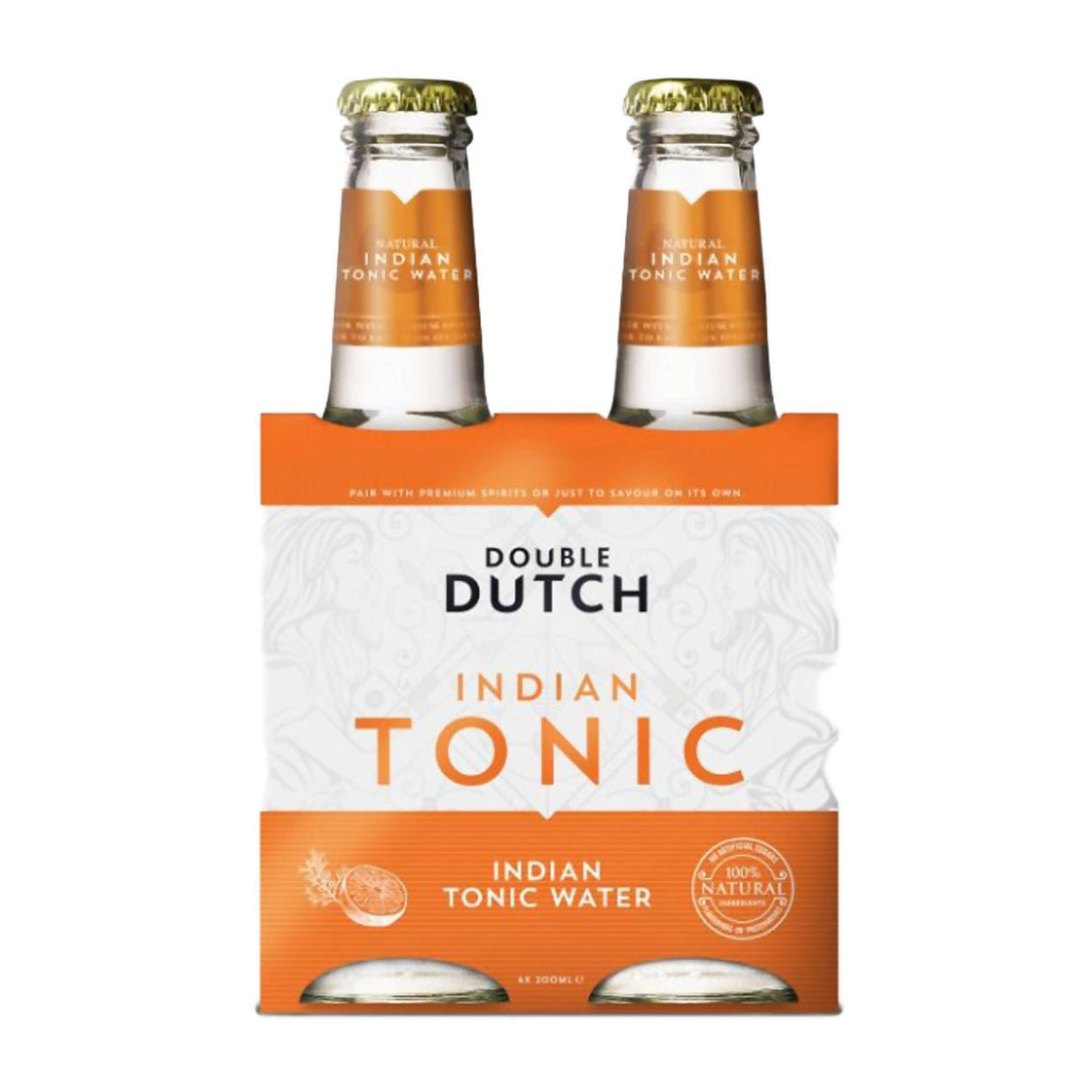Double Dutch Indian Tonic Water pack (4x0,2l)