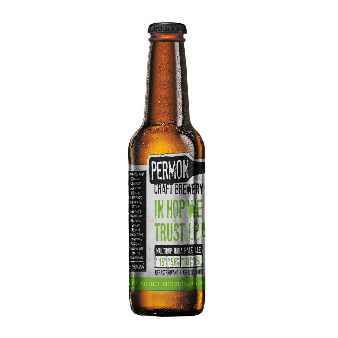 PERMON In HOP We Trust 15° (20x0,5l)