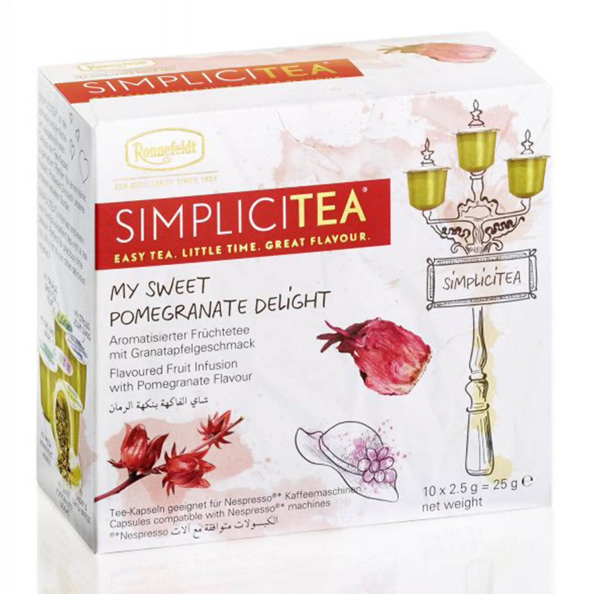 Ronnefeldt SIMPLICITEA My Sweet Pomegranate Delight (10 kapslí)