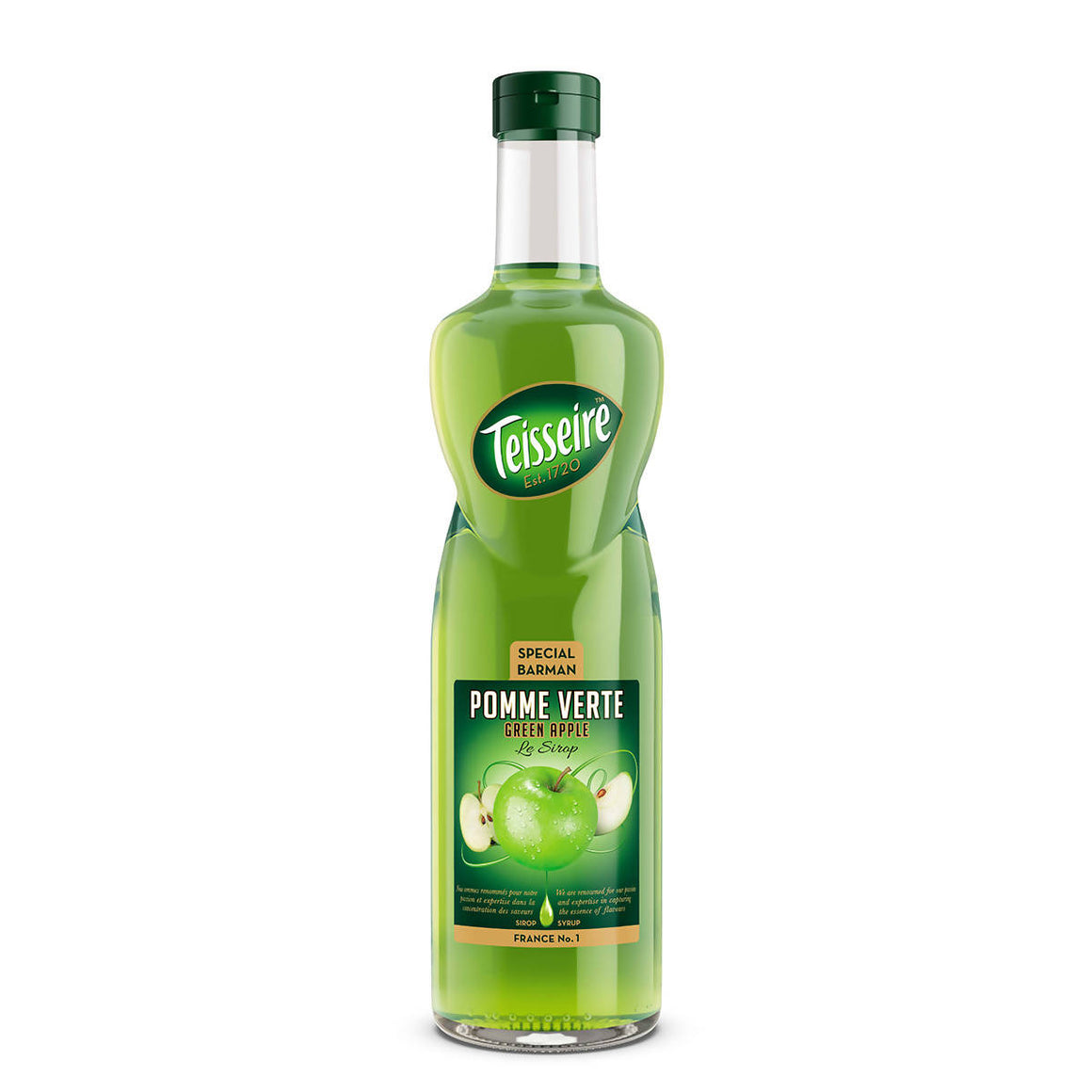 Teisseire green apple (1x0,7l)