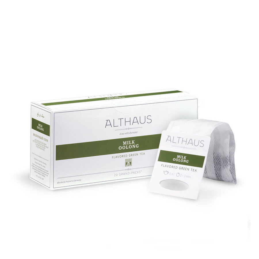 Althaus Milk Oolong - Grand Pack (20x4g)