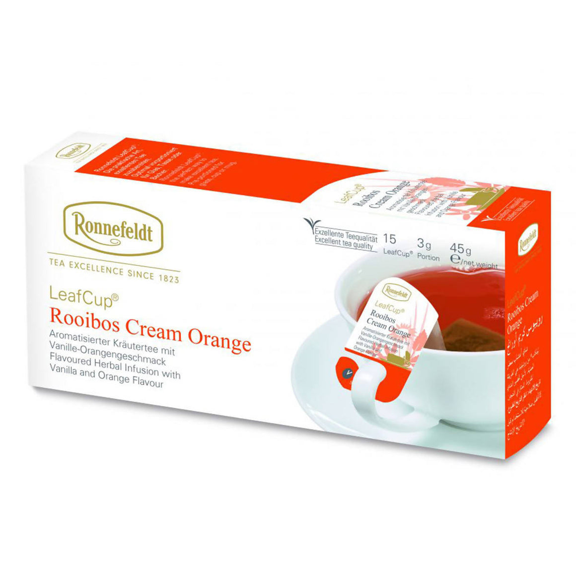 Ronnefeldt LeafCup Cream Orange (15x3g)