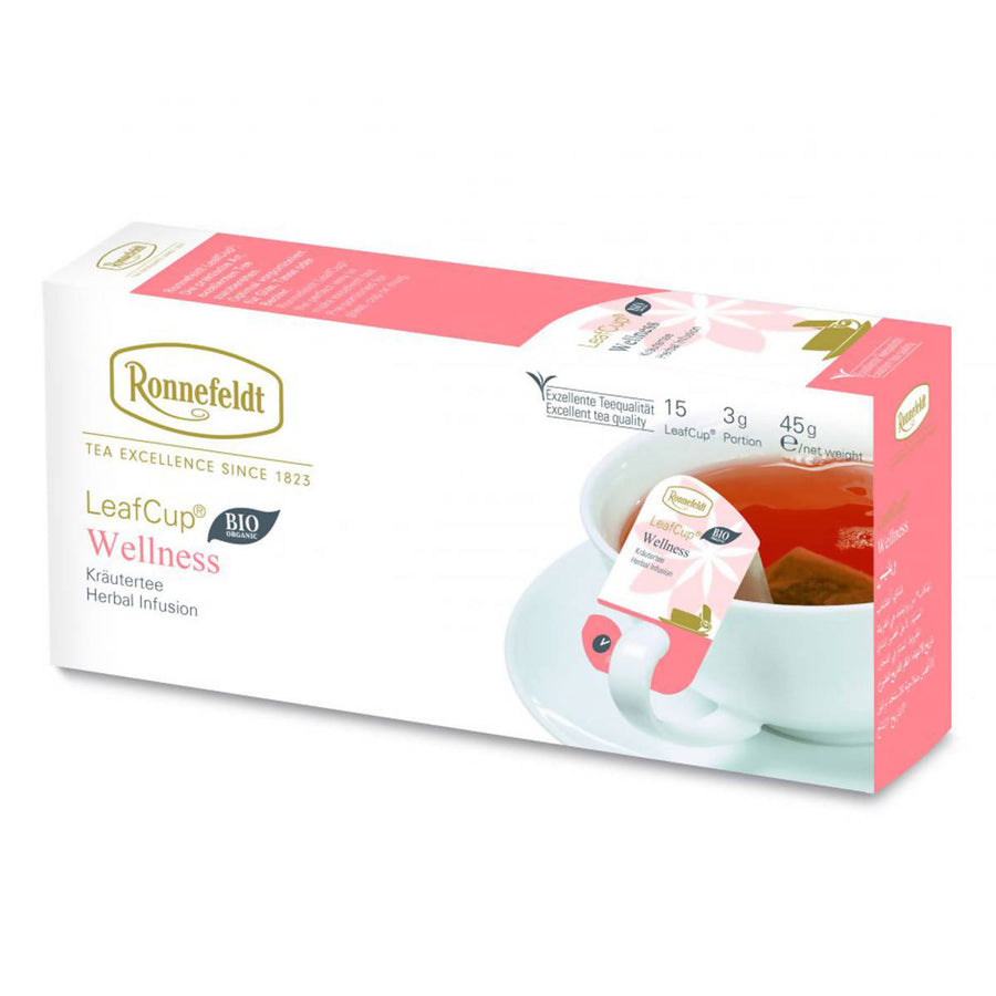 Ronnefeldt LeafCup Wellness (15x3g)