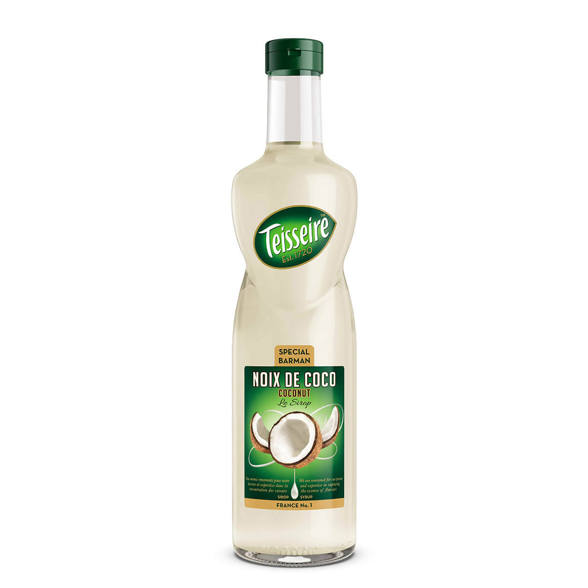 Teisseire coconut sklo (1x0,7l)