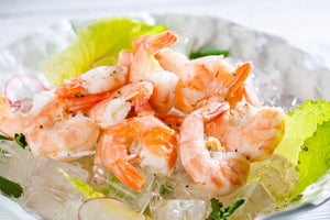Smoke Drowned Sous-Vide Shrimp Salad