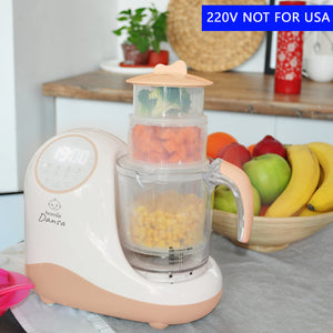 Dansa 8 in 1 Smart Baby Food Processor - 220V with EUROPEAN OUTLET
