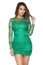Load image into Gallery viewer, DRESS-D924 GREEN