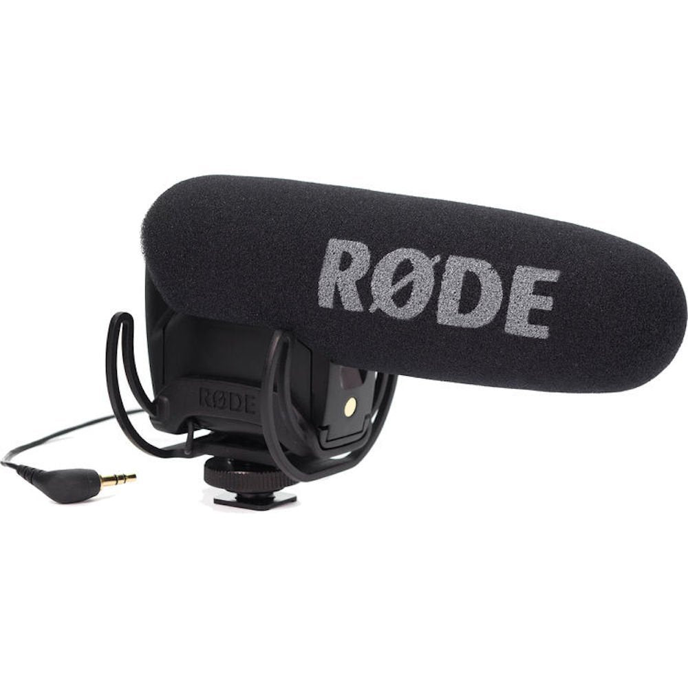 RODE VideoMic PRO-R Camera Mount Shotgun Condenser Microphone - Cam Caddie - The Original Universal Stabilizing Camera Handle