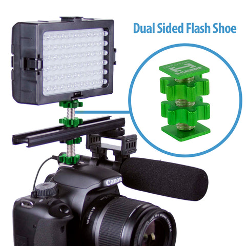 Cam Caddie D-Flashner Dual Sided Cold Shoe Flash Adapter