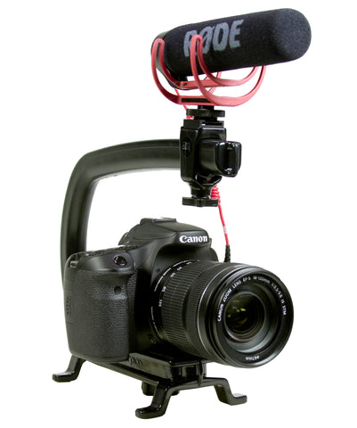 RODE VideoMic GO Camera Shotgun Microphone with Integrated Cold-Shoe Mount and Windshield