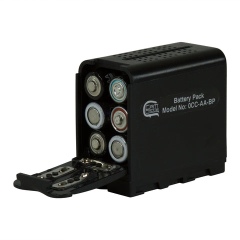 Cam Caddie AA Battery Pack Converter for SONY NP-F Series Monitors and LED Lights