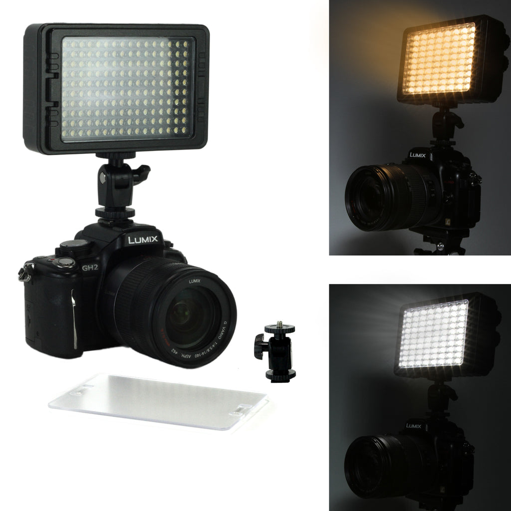 LED-160 Photo / Video Light - CamCaddie