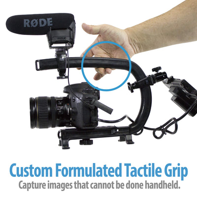 Camera handle Grip and Support rig for Stabilization and handheld stabilizer