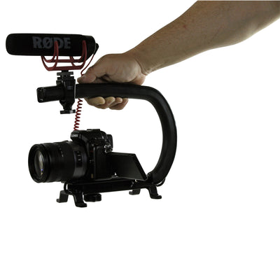Cam Caddie Scorpion Skate Edition DSLR/GoPro/Mirrorless Camera Stabilizer Handle - Cam Caddie - The Original Universal Stabilizing Camera Handle