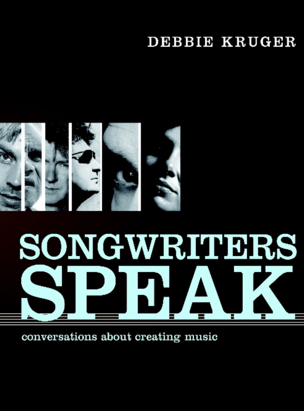 "Debbie Kruger - ""Songwriters Speak"" book cover"