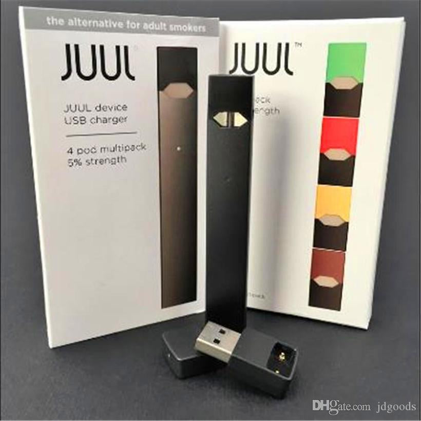 Juul Starter Kit with 4 Juul Pods USB charger