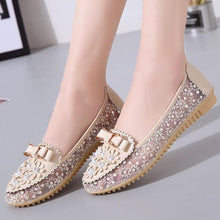 Load image into Gallery viewer, Lace  Flat  Lace  Round Toe  Casual Date Flat & Loafers
