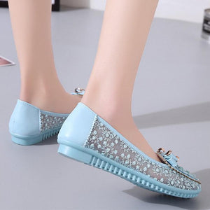 Lace  Flat  Lace  Round Toe  Casual Date Flat & Loafers