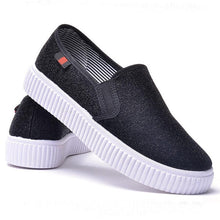 Load image into Gallery viewer, Plain  Flat  Round Toe  Casual Sport Sneakers