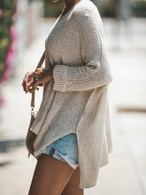 Load image into Gallery viewer, Casual Loose Round Neck Strapless Knitting Sweater