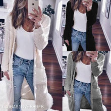 Load image into Gallery viewer, Casual Long Sleeve Solid Color Cardigan
