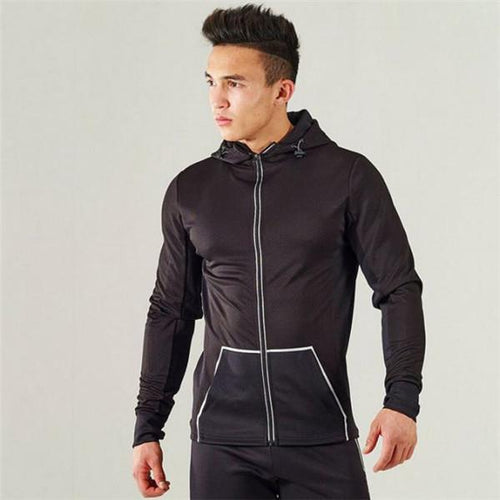Fashion Casual Youth Sport Zipper Long Sleeve Outerwear