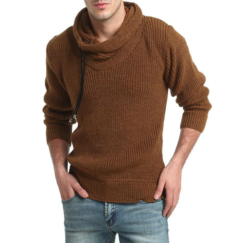 Fashion Winter Thicken Plain Sweater