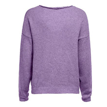 Load image into Gallery viewer, V Neck Long Sleeve Plain Knitting Sweaters