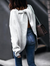 Load image into Gallery viewer, Sexy Backless Long Loose Fit Sweater