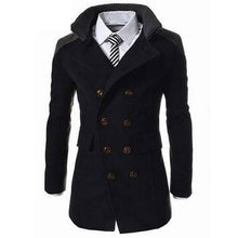 Load image into Gallery viewer, Men Fashion Turn-Down Collar Jacket