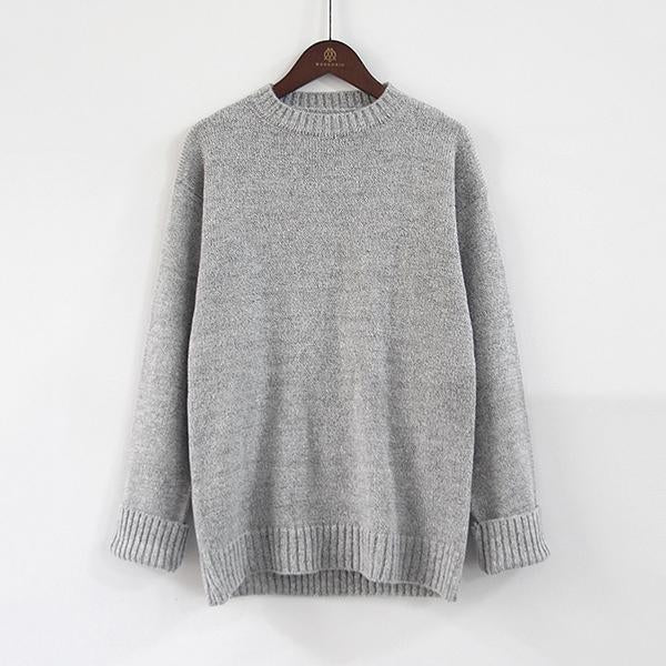 Fashion Bast Sleeve Pullover Sweater