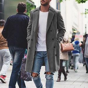 Classic Slim Fit Mens Coat
