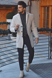 Fashion Mens Warm Outerwear Coat